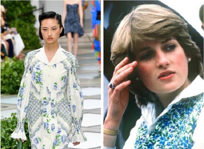 Платья с заниженной талией и широкими плечами: стиль принцессы Дианы станет трендом 2020 года