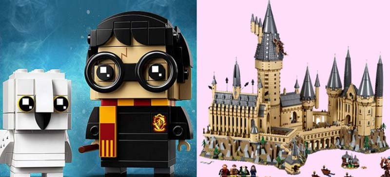 Теперь волшебные миры Гарри Поттера можно построить дома с помощью LEGO