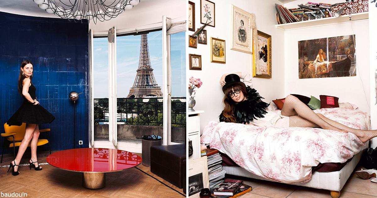 6 лет фотограф снимал парижских женщин, и вот 19 лучших кадров