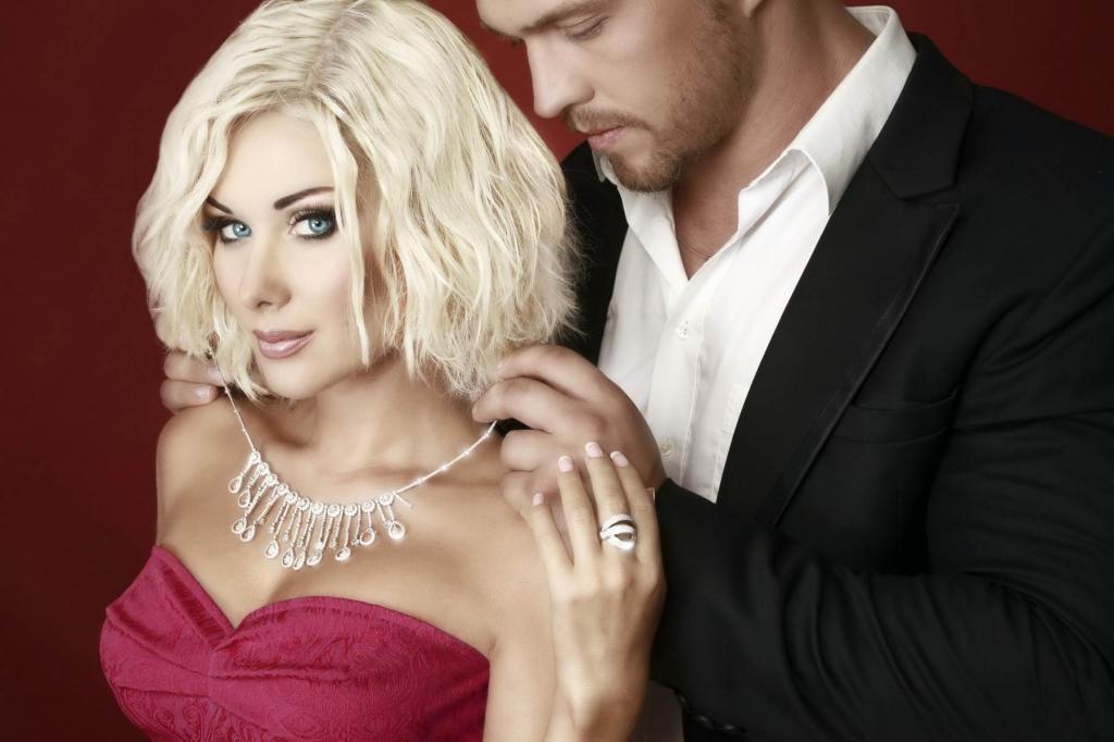 Блондинка и лысый любовь картинки