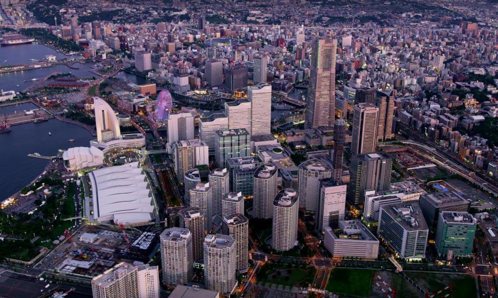Компания Armadas: фантастические виды крупных городов Японии с высоты птичьего полета