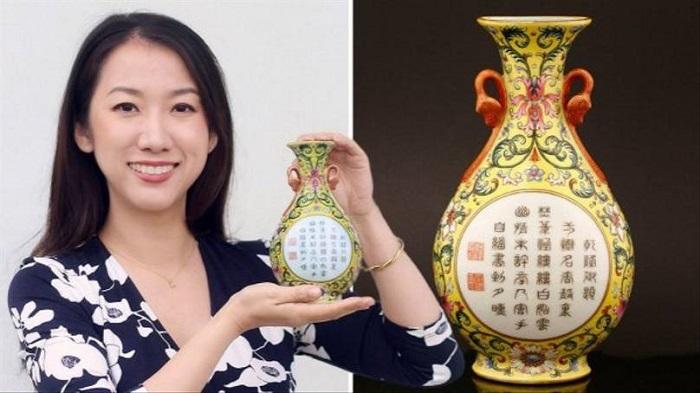 Женщина купила на барахолке за 1 доллар вазу, а теперь может получить за нее целое состояние, ведь та раньше принадлежала императору
