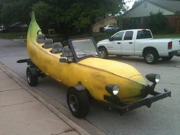 Авто в виде банана или с ажурным корпусом: необычные автомобили, которые доказывают, что фантазия инженеров не имеет границ
