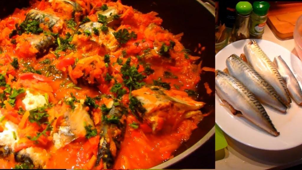 Надоела соленая скумбрия? Советую попробовать рыбку в томатоном соусе: моя семья в восторге от этого блюда
