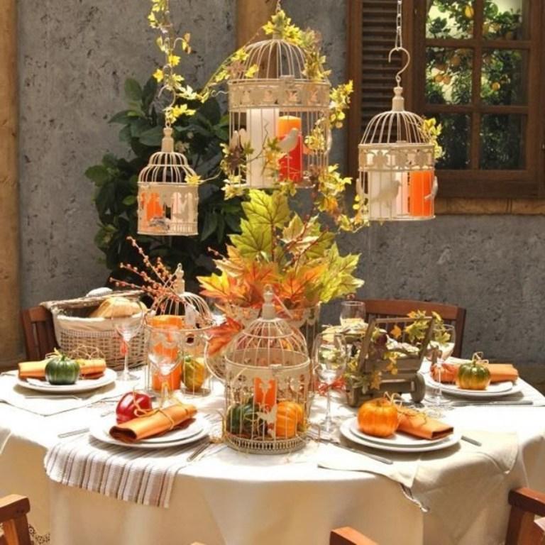 Осень   время креатива: как украсить праздничный стол к осенним праздникам