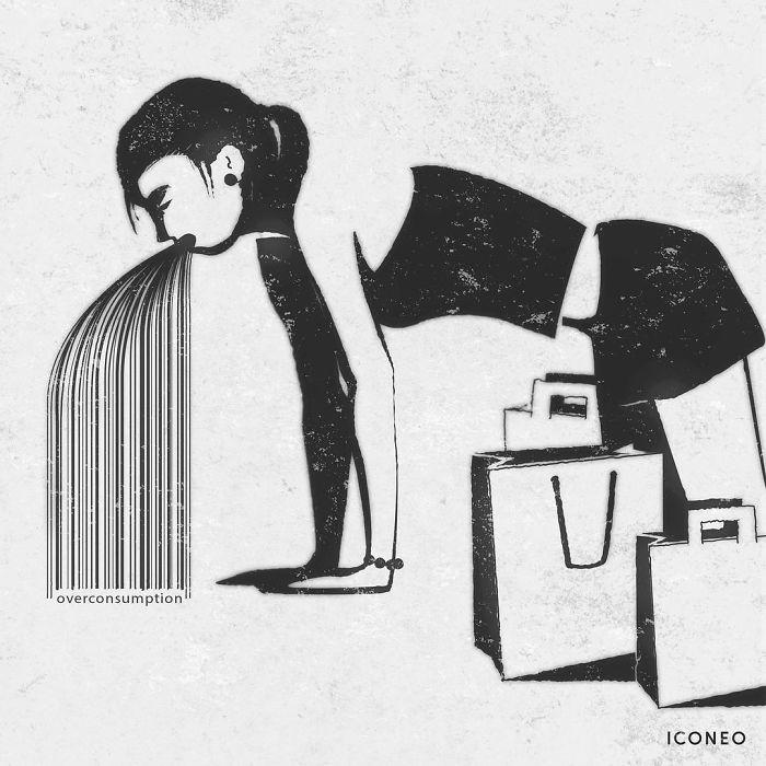 38 карикатур, каждая из которых заставит вас крепко подумать