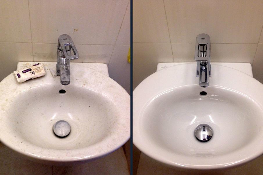 С помощью трех копеечных компонентов я отмыла всю ванную комнату до блеска: рецепт универсального чистящего средства