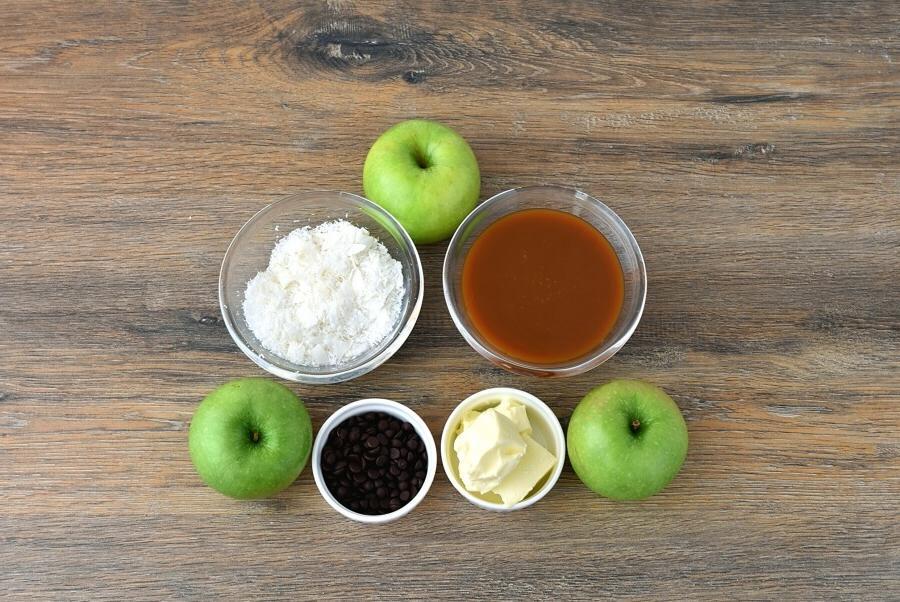 Яблоки в карамельно шоколадном соусе. Вкусный и полезный десерт на каждый день