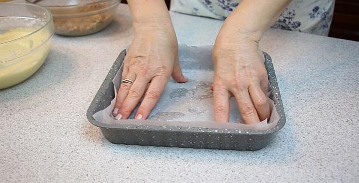 Учимся готовить пирог
