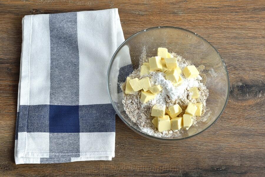 По рецепту бабушки готовлю деревенский пирог из груши. Вкусное и полезное блюдо