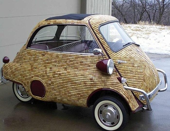 Старик умеет делать из старых автомобилей звезд авто шоу