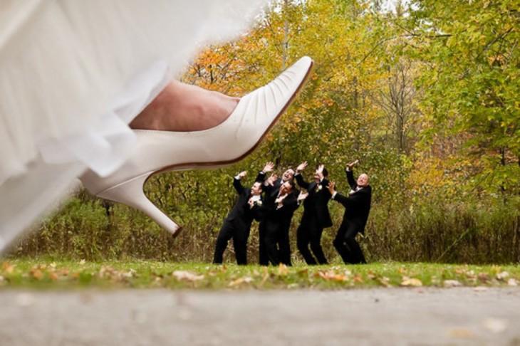 Когда друзья жениха явно знают толк в веселье: фотоподборка