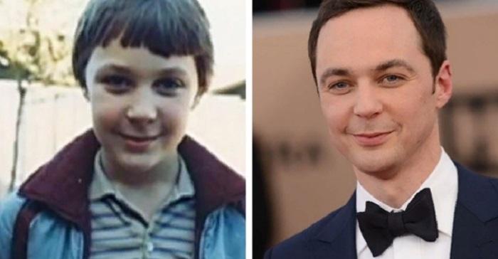 Как выглядели актеры любимых комедийных сериалов в детстве: у Шелдона уже тогда была светлая и умная голова