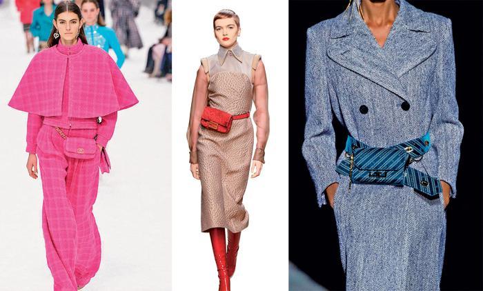 Одежда в клетку, поясные сумки   основные тренды этой осени