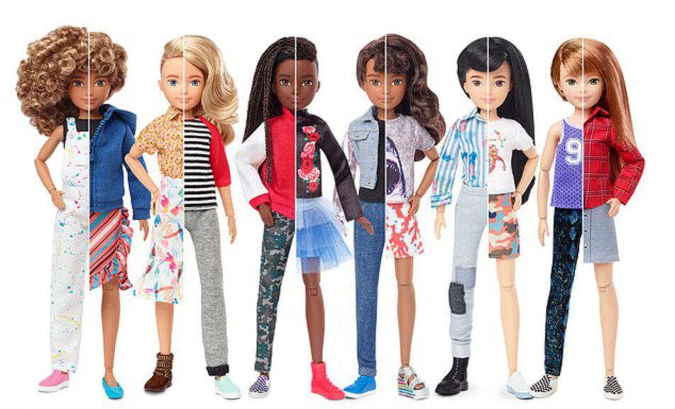 Игрушечный гигант выпускает первую в мире коллекцию гендерно нейтральных кукол