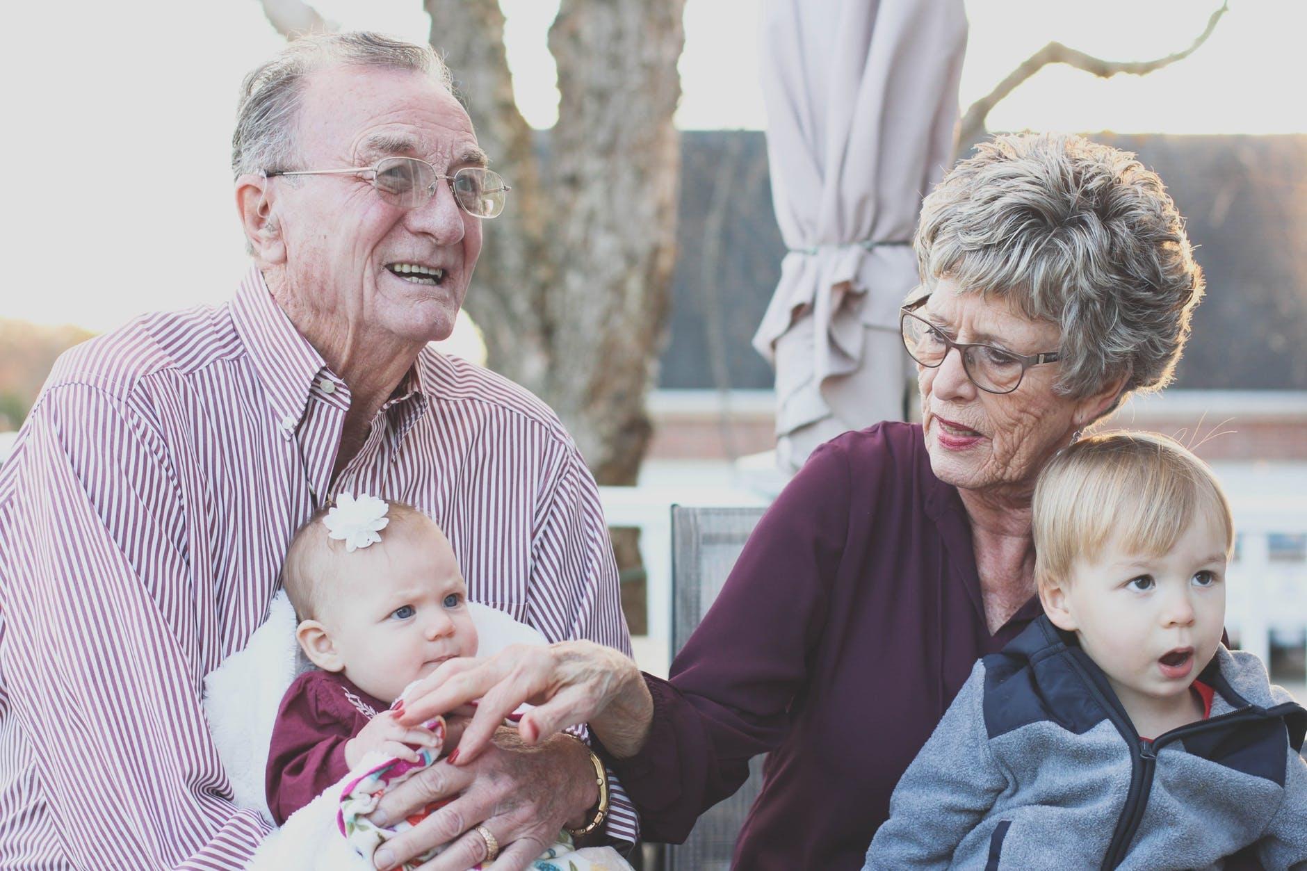 Любовь между бабушкой и внуками   это навсегда и это высшая любовь