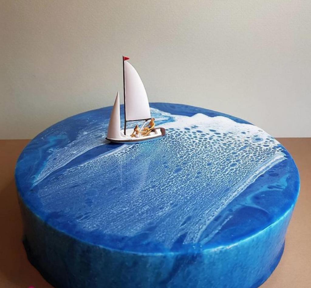 Кондитер превращает обычные торты в произведения искусства. Его шедевры жалко есть (фото)