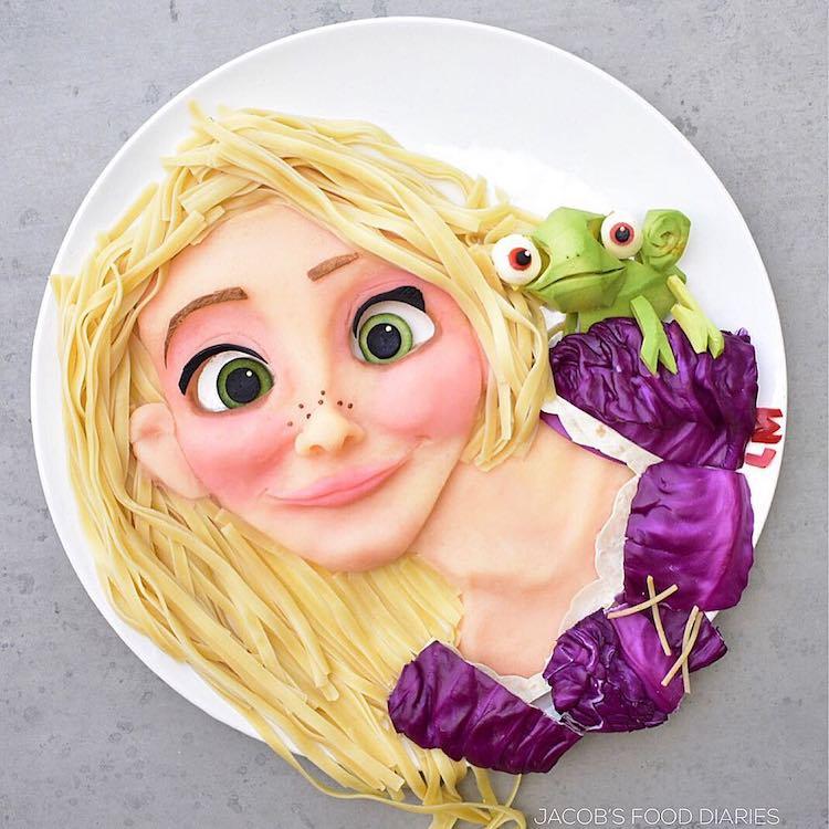 Даже есть жалко! Чтобы дети ели здоровую еду, мама превращает блюда в шедевры искусства