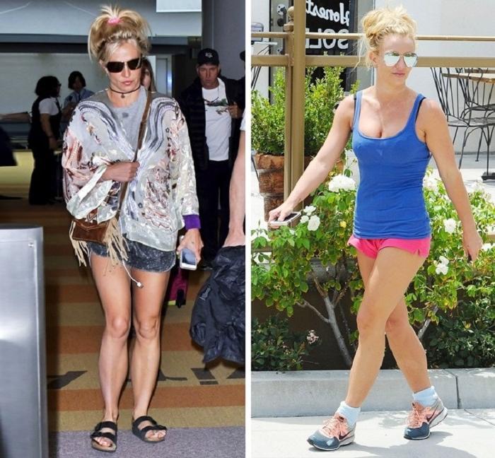 Как выглядят голливудские звезды, когда выходят за хлебом: многие из них забывают о каблуках, одеваются в простую одежду