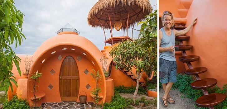 Все началось с небольшого земельного участка: дом мечты был построен за 6 недель