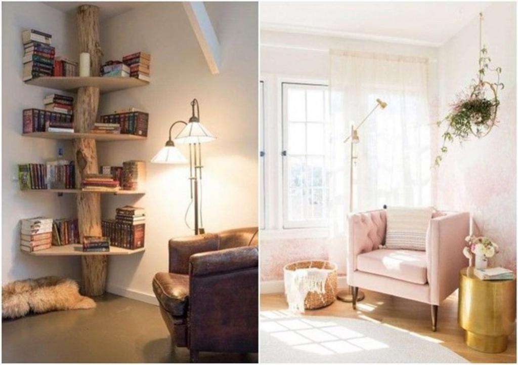 Мой уютный уголок: дизайнер поделился подборкой идей, как сделать уютными укромные места с максимальной пользой