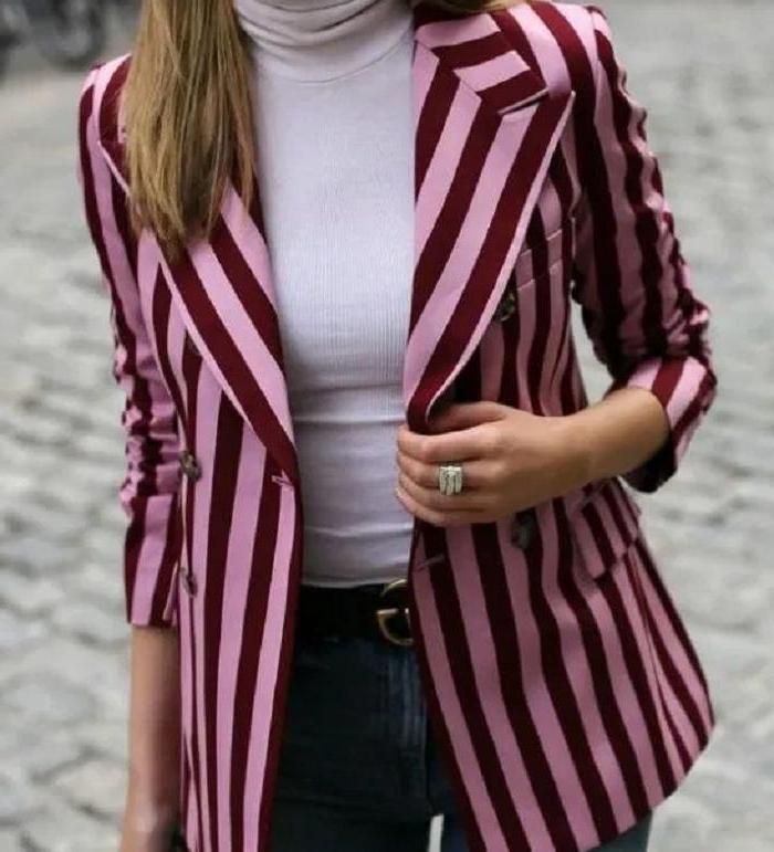 Яркие цвета, цветочный принт, полоска: 8 модных пиджаков на осень, которые заставят окружающих обернуться