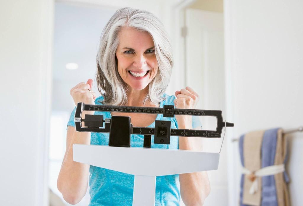 Как похудеть после менопаузы