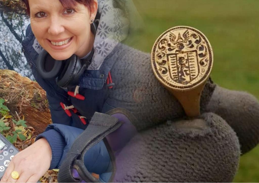 Сюрприз из 17 го века: женщина нашла золотое кольцо эпохи Карла II на озере Лох Ломонд, его стоимость   17 тысяч фунтов стерлингов