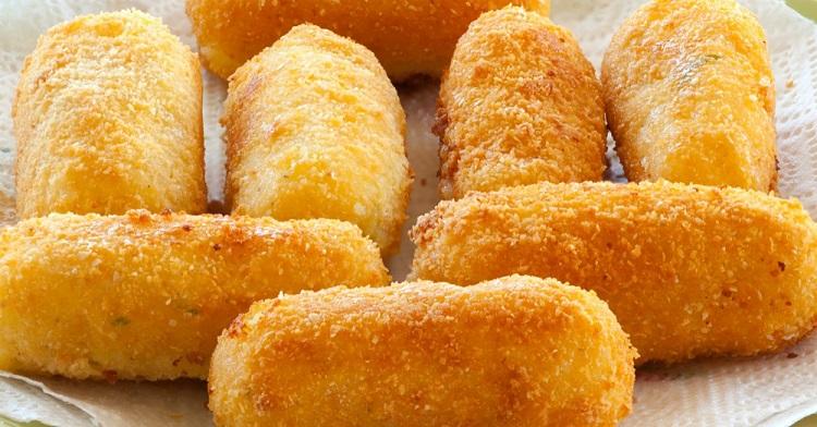 Картофельные крокеты с творогом: попробовав блюдо в гостях, стала часто его готовить на ужин