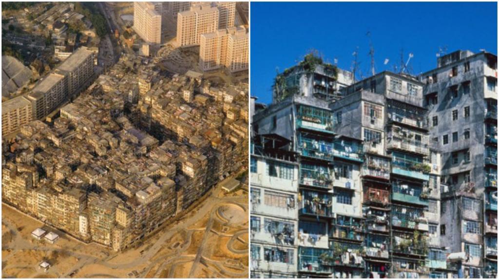Крепость Коулун: удивительный город в городе с наибольшей плотностью населения на Земле