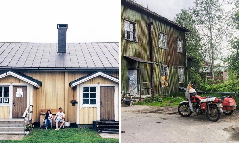 По разные стороны границы: как выглядят российский и финский поселки. Между ними 24 км, но есть ли контраст