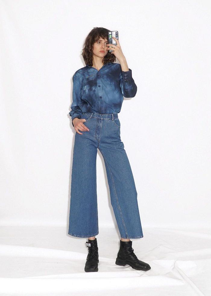 Джинсы никогда не выходят из моды, стоит заглянуть в мамин гардероб. Осень 2019   варенки, бананы, оверсайз