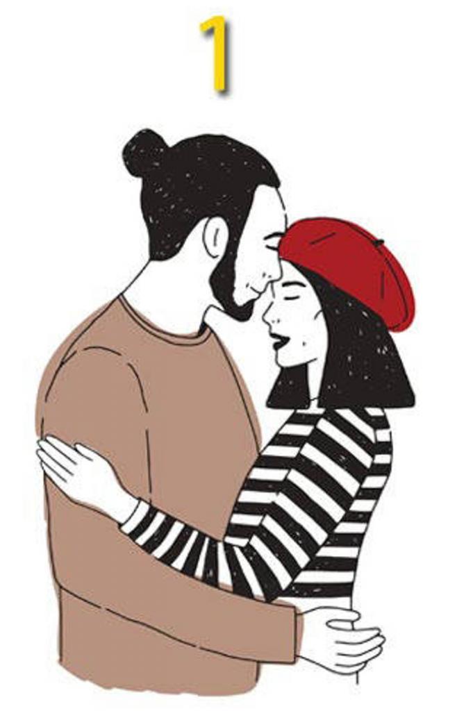 Тест на объятья. Картинка, которая понравится больше всего, покажет, что для вас важнее в любви