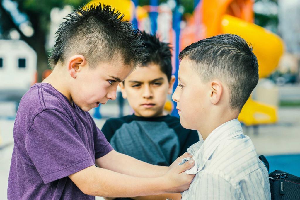 Предпочитает общаться с агрессивными детьми: 7 признаков того, что ваш ребенок   хулиган