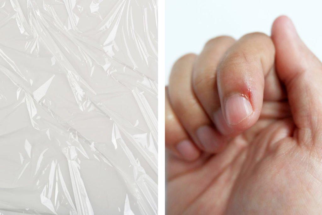 Необычные способы применения полиэтиленовой пленки в быту: ловушка для мух, хранение цветов и т. д.