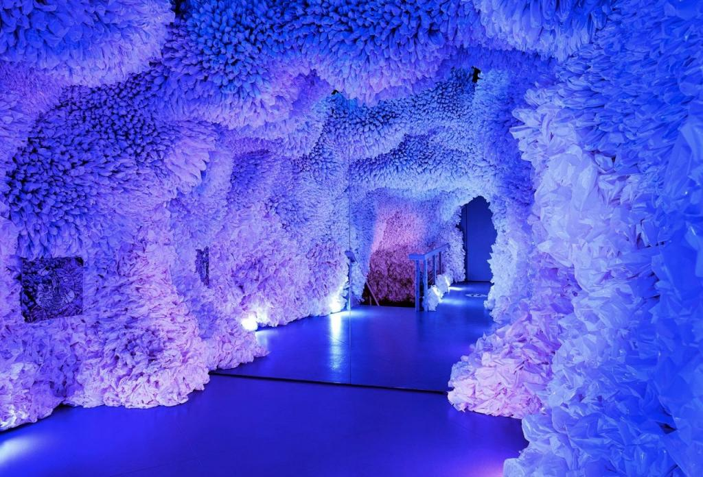 Земля Аркадии : в Нью Йорке открылась интерактивная красочная выставка, посвященная проблемам экологии (фото)