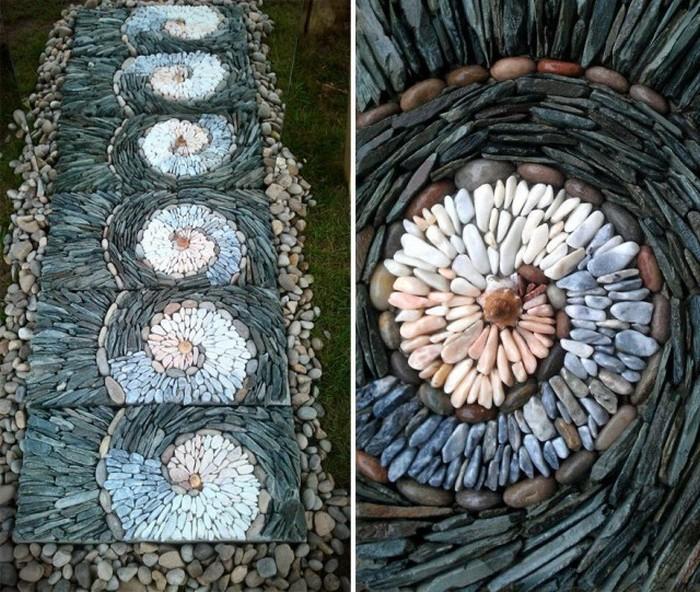 Каменщик с художественным вкусом из Великобритании превращает обычные булыжники в произведения искусства (фото)