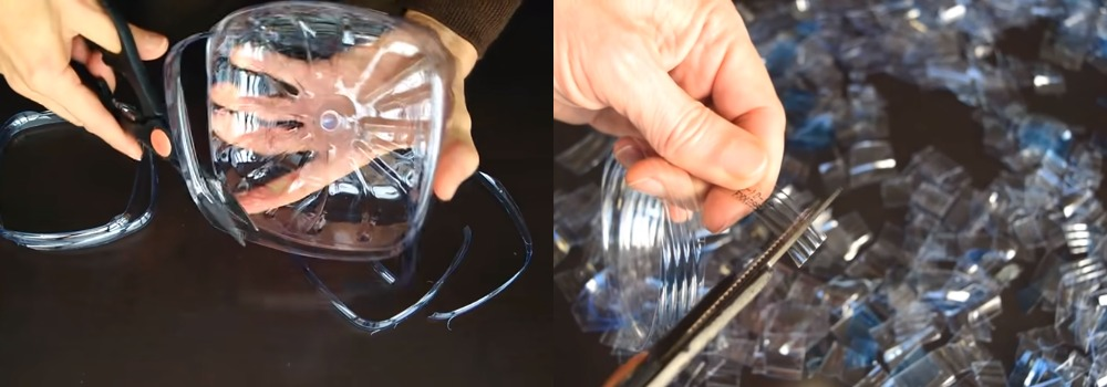 Муж подруги сделал из пластиковых бутылок... нож! Режет не хуже обычного, а на вид какой красивый