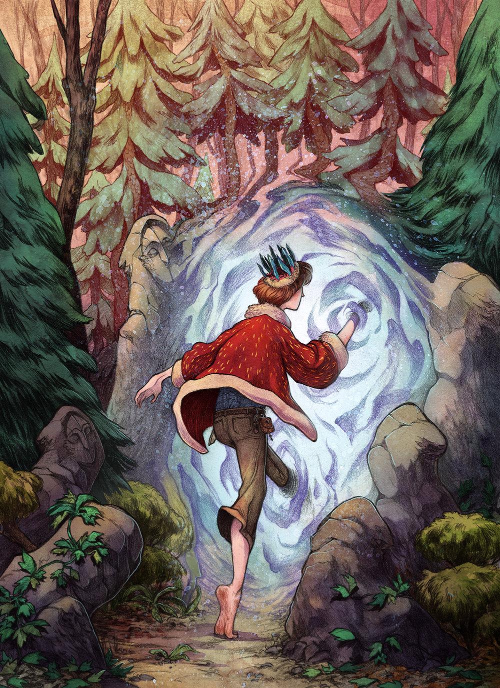 22 иллюстрации Джеймса Фирнхабера, которые способны облегчить душу