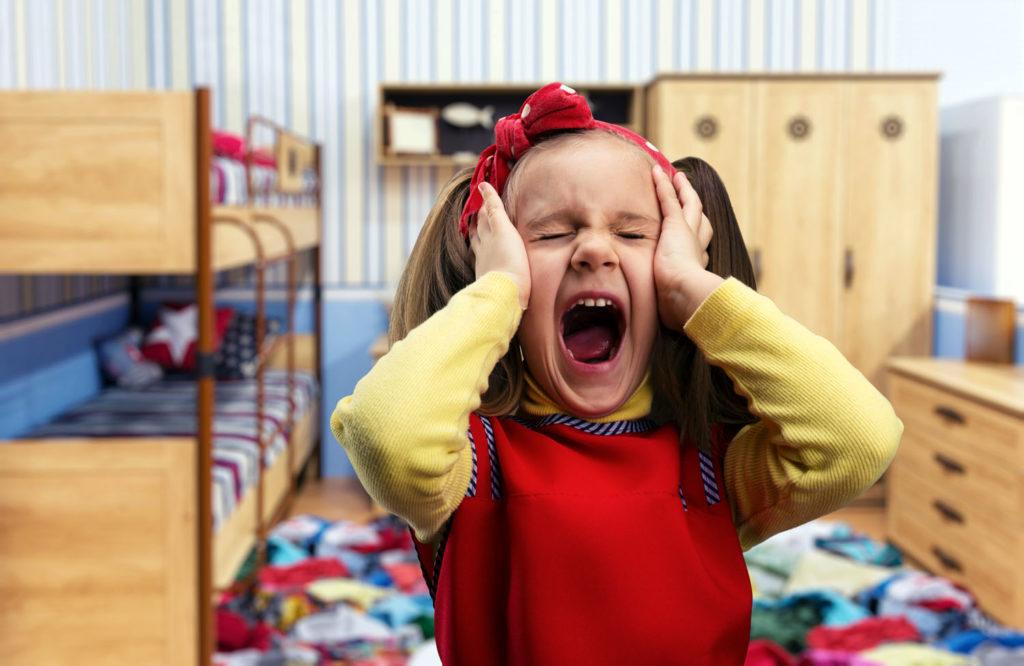Как справиться с детскими истериками. Мой опыт.