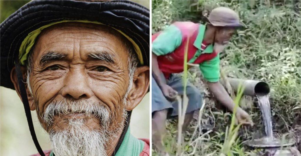 Мужчина с острова Ява в Индонезии сумел превратить свой засушливый город в плодородный регион, посадив более 11 тысяч деревьев за 19 лет