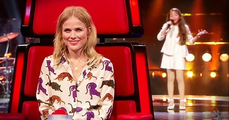 Девочка так исполнила 80 летнюю песню, что ее голос еще будет сниться судьям