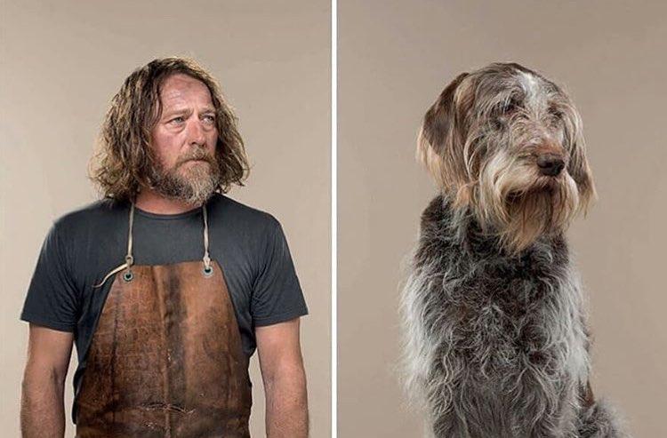 Британский фотограф решил наглядно продемонстрировать, что собаки очень похожи на своих хозяев (фото)