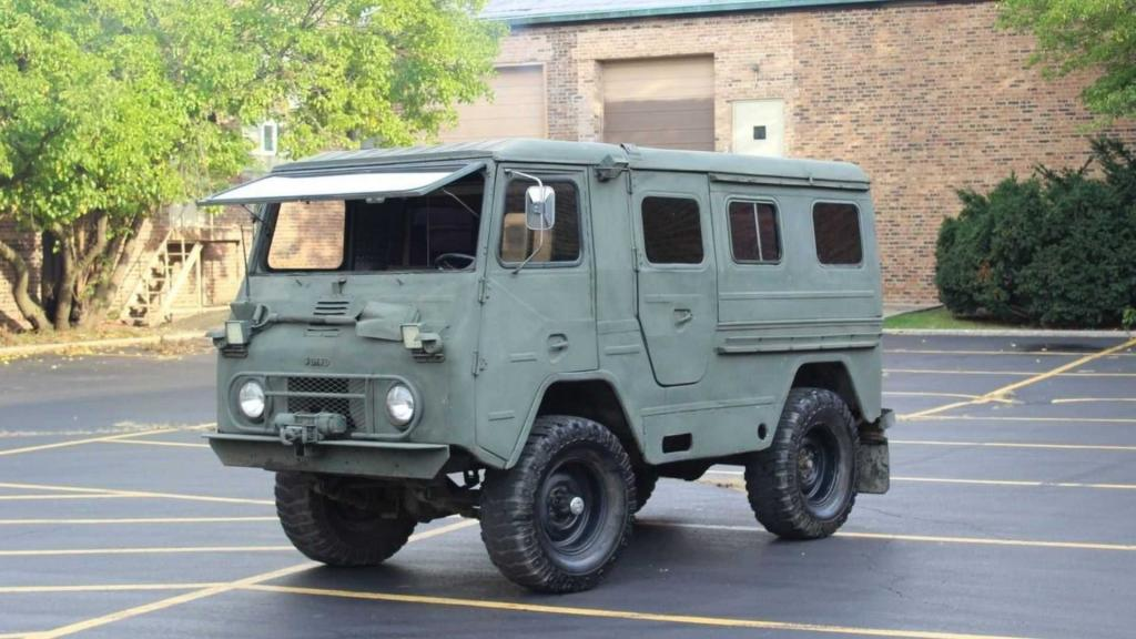 Там, где пехота не пройдет: покоритель бездорожья армейский грузовик