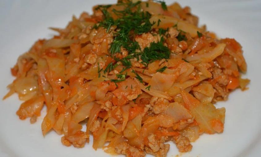 Делаю на сковороде бесформенные ленивые голубцы без риса, только овощи и мясо   самый простой и быстрый вариант приготовления такого блюда