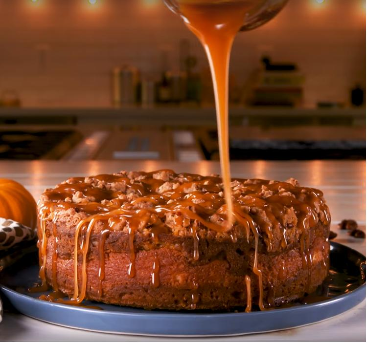 Осенью я радую своих домочадцев тыквенно-кофейным тортом с сливочным кремом: рецепт