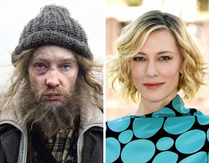 Десять известных актеров, которых невозможно узнать в гриме: Рэдклиффа в фильме