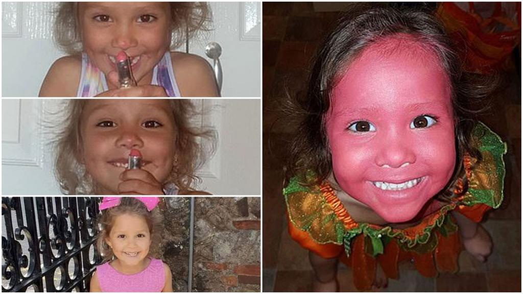 Мама отправила дочь смотреть телевизор: через 10 минут она не узнала ее, малышке в руки попалась губная помада