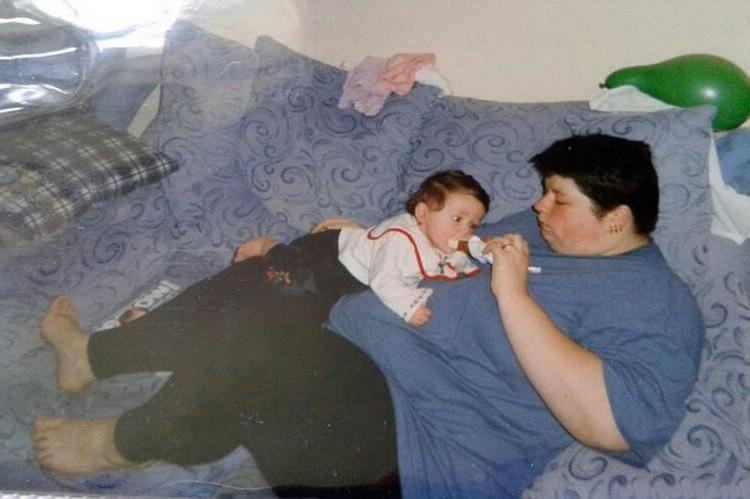 Главное   желание: мать четверых детей решила заняться собой и за несколько лет смогла сбросить лишний вес