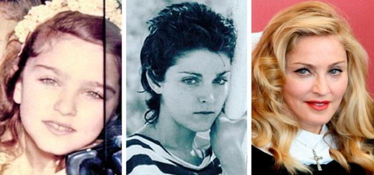 Фотографии известных женщин в детстве, подростковом возрасте и сейчас: Гвен Стефани сейчас намного красивее, чем в молодости